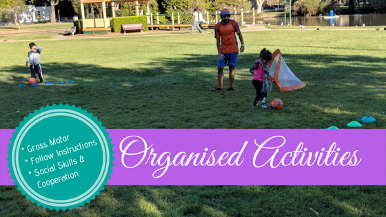 Getting the Most Out of Therapy with Organised Activities