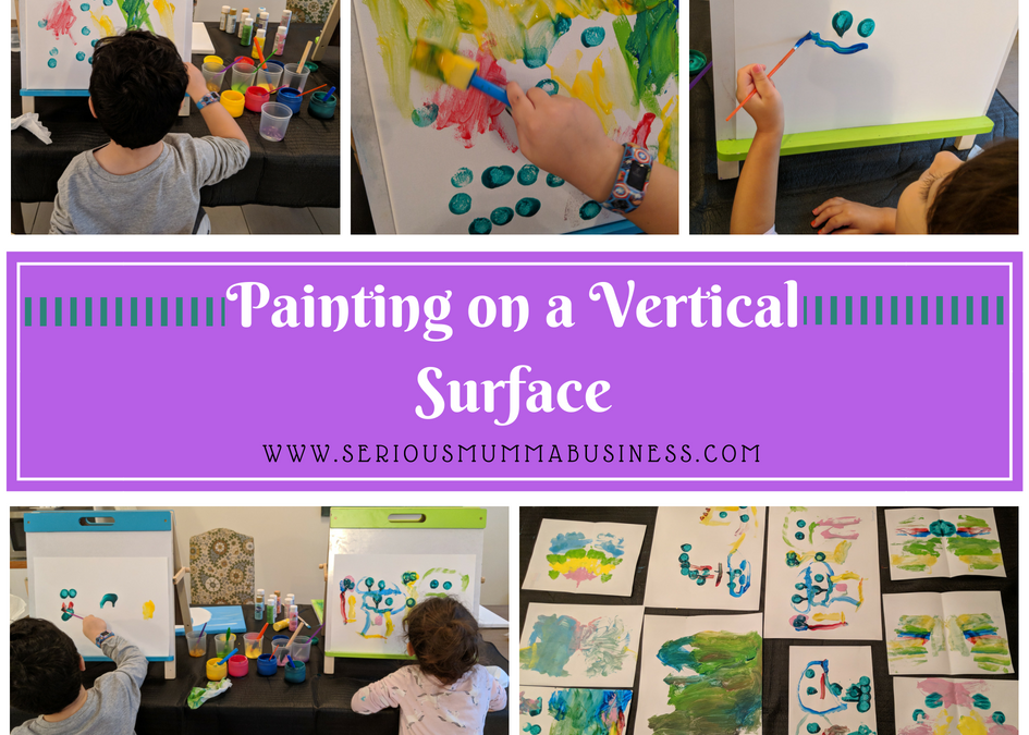 Painting on a Vertical Surface