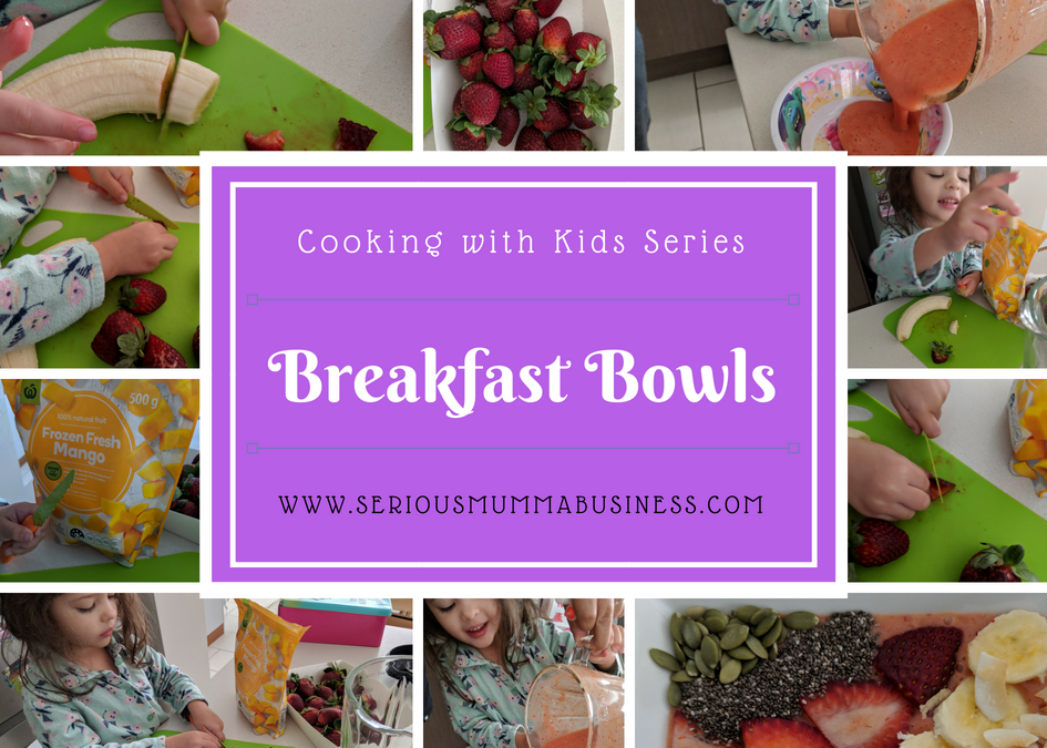 Cooking with Kids: Breakfast Bowls