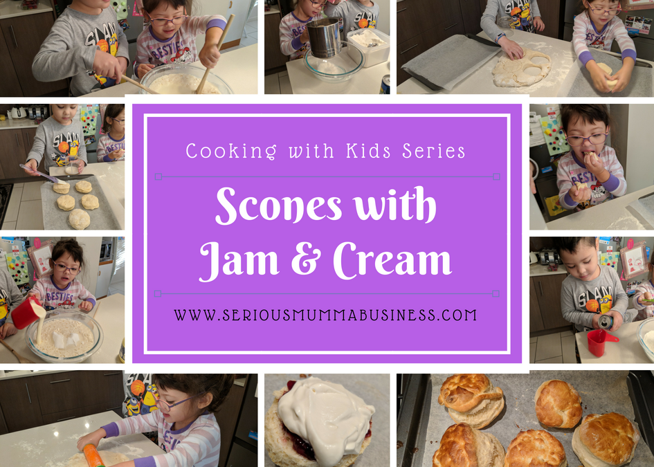 Cooking with Kids: Scones with Jam & Cream