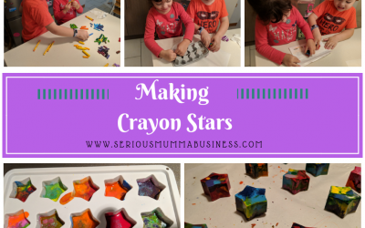 Making Crayon Stars