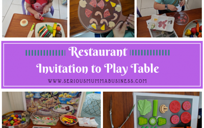 Restaurant Invitation to Play Table